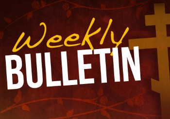 This Week's Bulletin