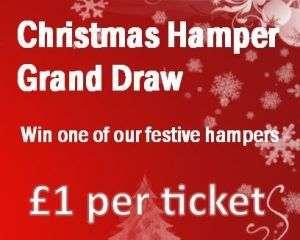 Christmas Hamper Draw @ East Hall
