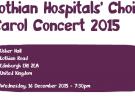 Lothian Hospitals' Choir Christmas Carol Concert