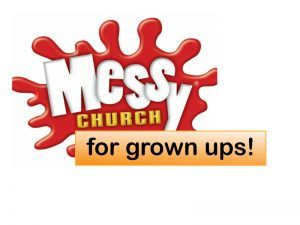 messy church for grown ups
