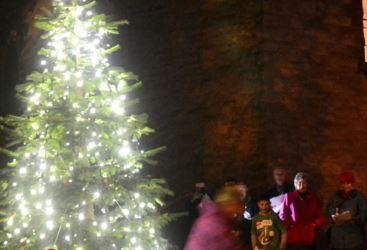 Granton's Tree Lighting event