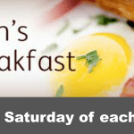 Men's Breakfast – next on Saturday 12th August