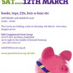 Scout Book & Toy Sale – 12th March