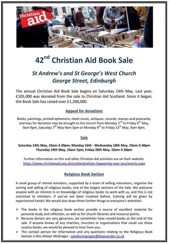 christian aid book sale 2016