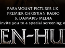 Ben Hur – an invitation to VIP screening