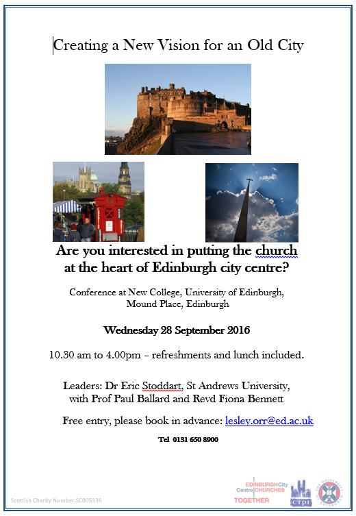 City Centre Church Conference  poster