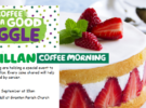 Macmillan Coffee Morning – Thursday 29th  Sept