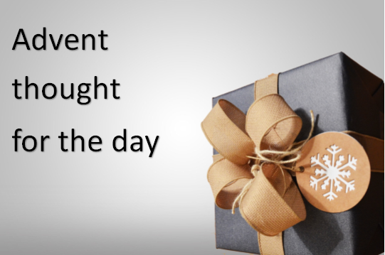 Advent Thought for the Day