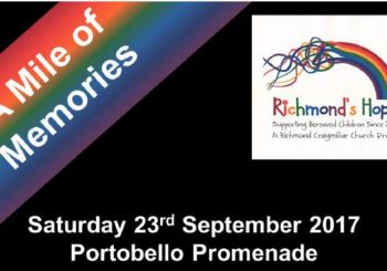 A Mile of Memories – Richmond's Hope – 23rd September