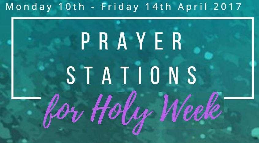 prayer stations for holy week - Granton Parish Church