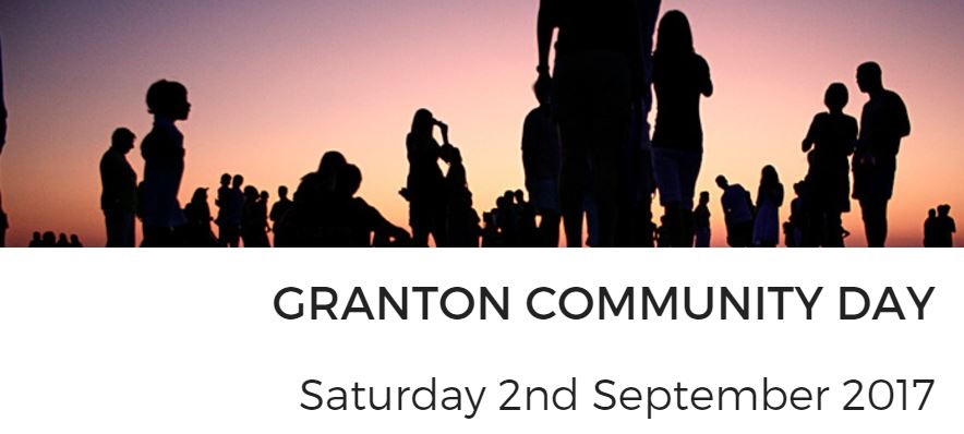Granton Community Day - Saturday 2nd September