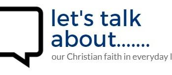 Let's Talk About……..Thursday at 8pm in the church