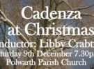Cadenza at Christmas – 10th December