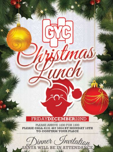 granton youth centre christmas lunch invitation granton parish church