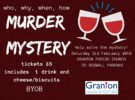 """There's Been a Murder"" – Saturday 3rd February"