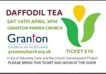 Daffodil Tea – Saturday 14th April – TICKETS ON SALE NOW