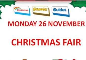 Guides Christmas Fair – Monday 26th November