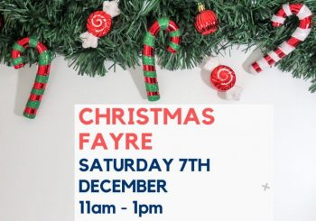 Experience Christmas at the Church Christmas Fayre – Saturday 7th December