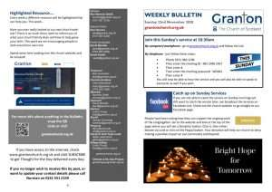 thumbnail of 2020 11 22 – Weekly Bulletin and TFTD – Sunday 22 November 2020 print