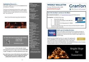 thumbnail of 2020 12 27 – Weekly Bulletin and TFTD – Sunday 27 December 2020 for print