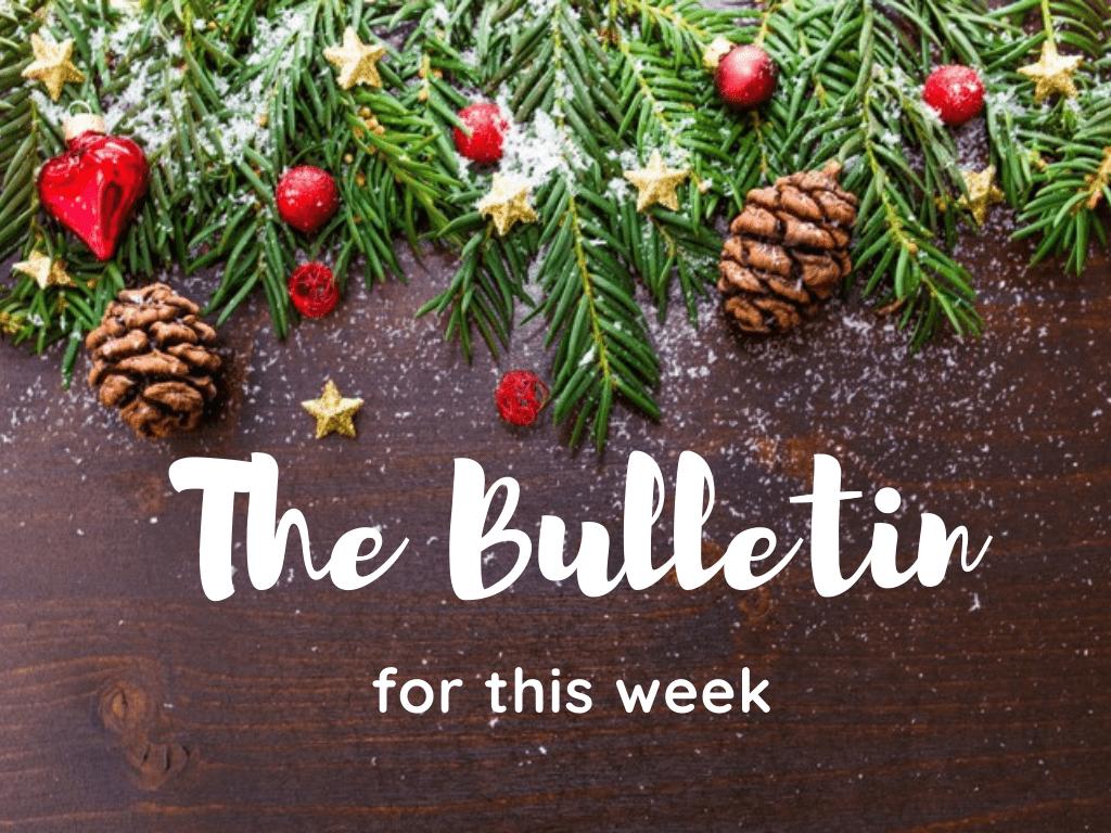 bulletin for christmas