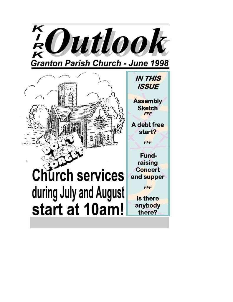 1998 Kirk Outlook – 1998 June