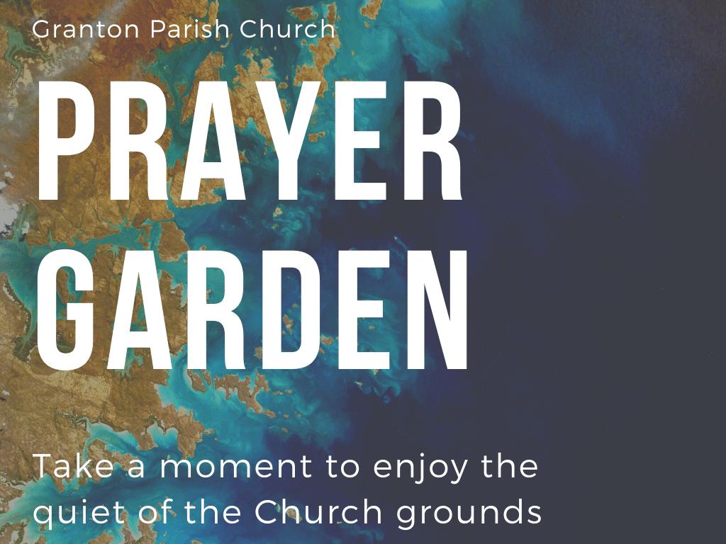 Prayer garden post