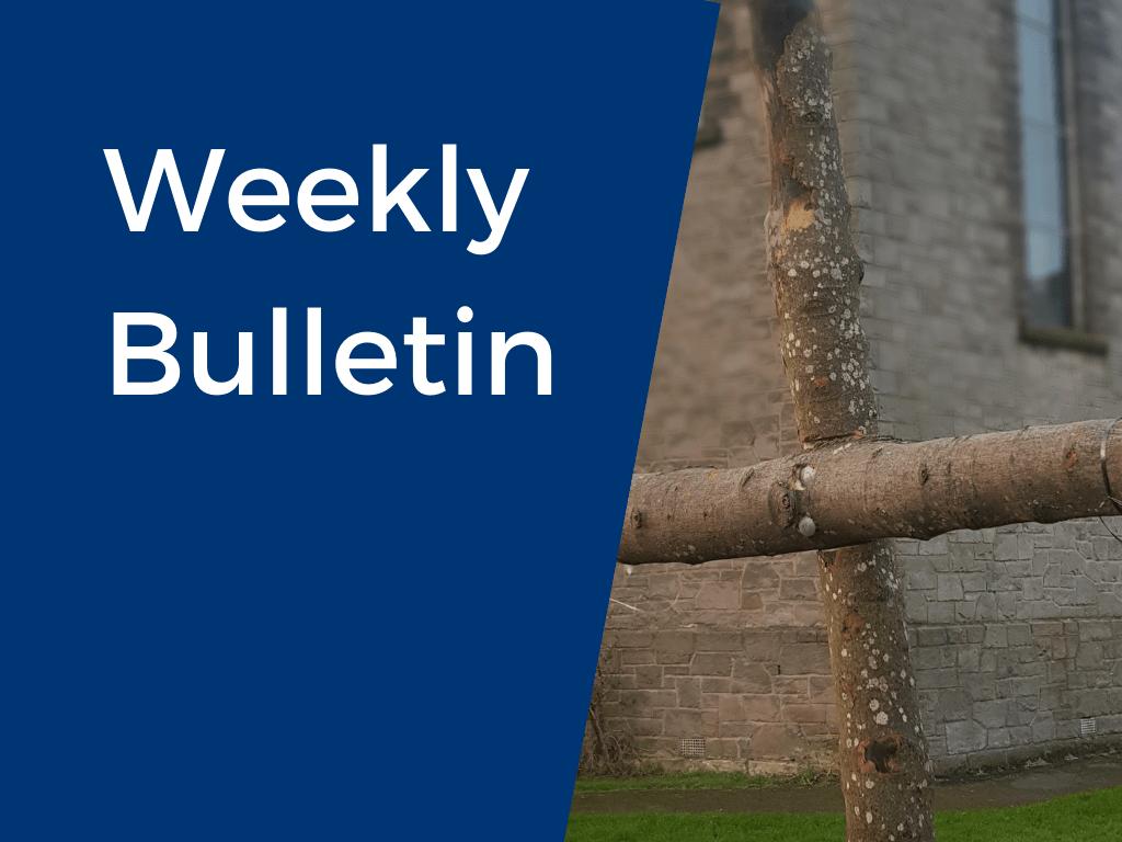 Weekly bulletin lent 2021