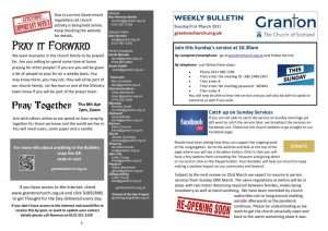 thumbnail of 2021 3 21 – Weekly Bulletin and TFTD – Sunday 21st March 2020 for print
