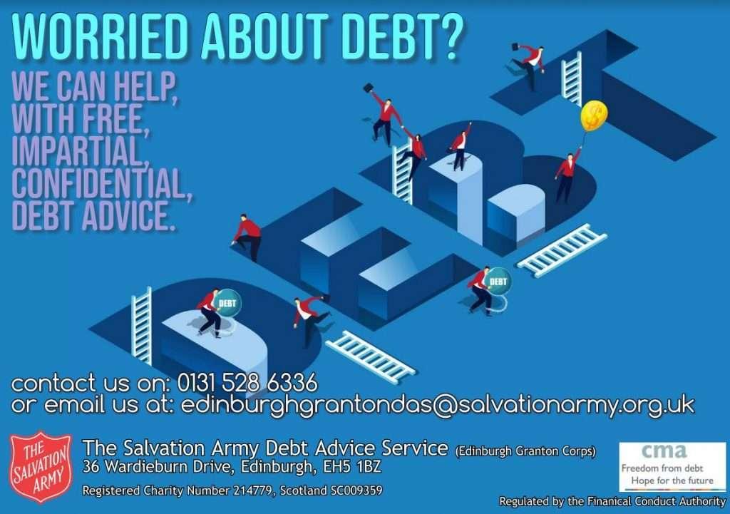 salvation army debt service