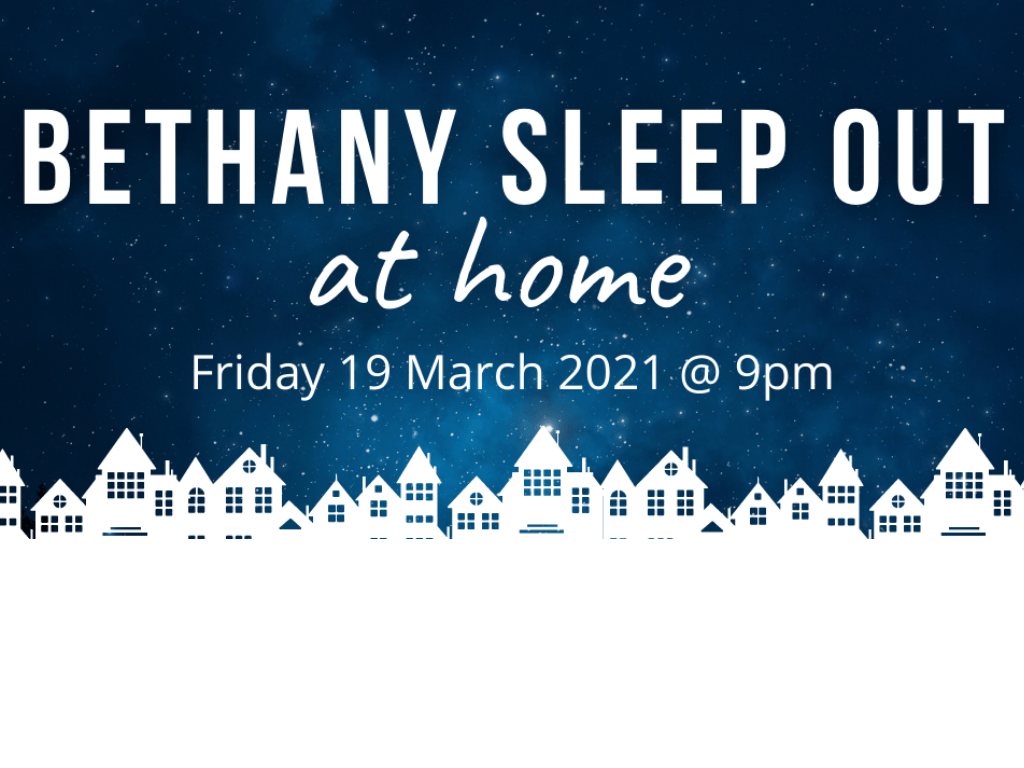 sleep out at home