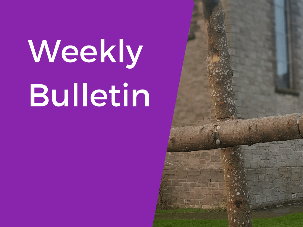 weekly bulletin – lent and easter