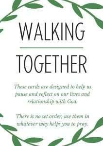 thumbnail of Walking Together Prayer Cards