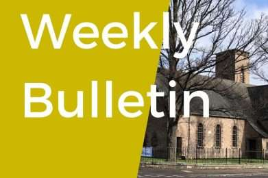 weekly bulletin post